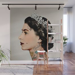 Rebel Queen Wall Mural