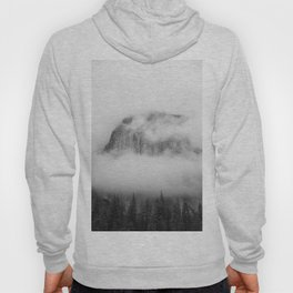 The Foggy Mountain (Black and White) Hoody