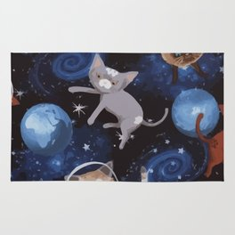 Cats on the Space Rug