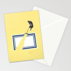 Path (monk gardening) Stationery Cards