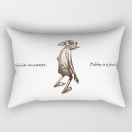 Dobby is a free elf Rectangular Pillow