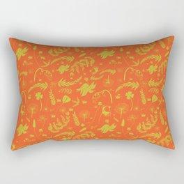 Yellow/green + Orange Spring Folliage SS18 Rectangular Pillow