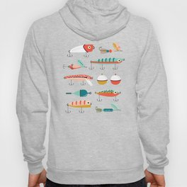 Fishing Lures Hoody