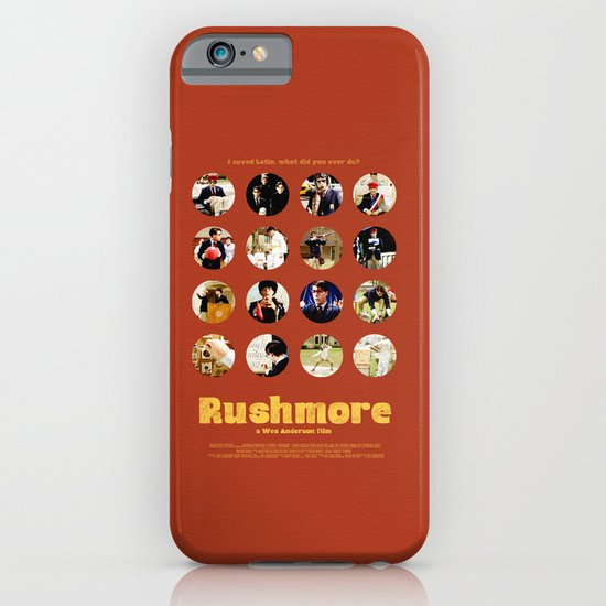 Wes Anderson / Rushmore - The Many Faces of Max Fischer iPhone & iPod Case