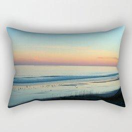 The Day Ends Rectangular Pillow