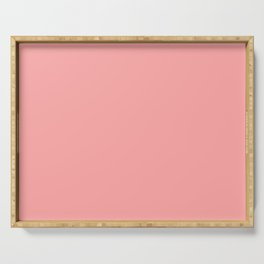 Coral Pink Serving Tray