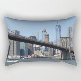 The Brooklyn Bridge in NYC Rectangular Pillow