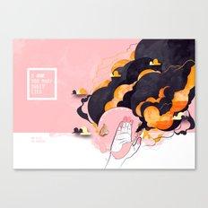 No Human #2 Canvas Print