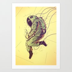 Green Mission Art Print