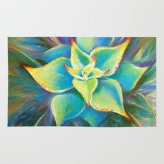 Succulent  Flower Rug