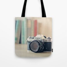 Vintage Film Camera  Tote Bag