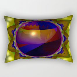 Bowl in the hole ... Rectangular Pillow