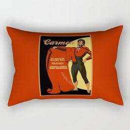 Carmen Opera (Toreador) Rectangular Pillow