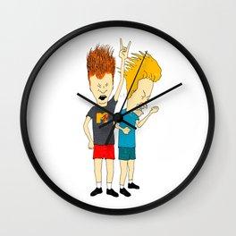 Beavis and Butt-Head Wall Clock