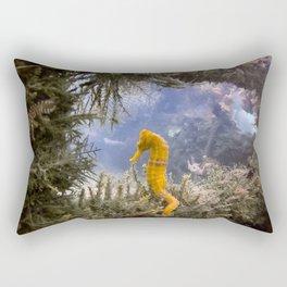 Seahorse Window Rectangular Pillow