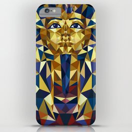 Golden Tutankhamun - Pharaoh's Mask iPhone Case