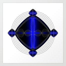 Fleuron Composition No. 120 Art Print