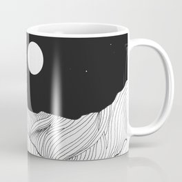 Lines in the mountains II Coffee Mug