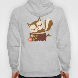 Sleeping Woodland Animals Hoody