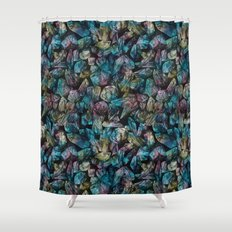 Crystal Points  Shower Curtain
