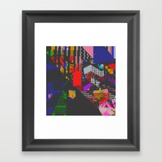 Colorblind Framed Art Print