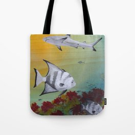 Nervous Neighbors Tote Bag