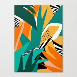 Jungle Abstract Canvas Print
