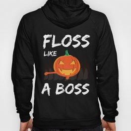 Halloween Pumpkin Floss Like A Boss Youth Dance Hoody