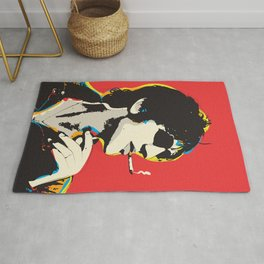 Richard Ashcroft Pop Art Quote Rug