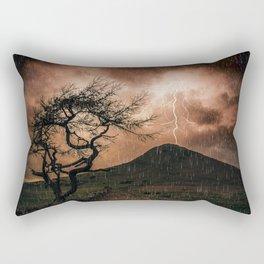 Thors Hammer Rectangular Pillow