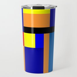 Mondrian #2 Travel Mug