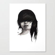 Bangz Two Canvas Print