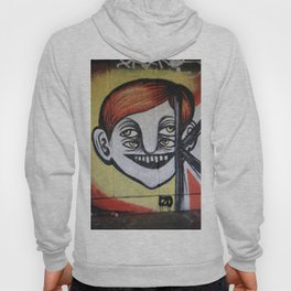 One face four eyes. Hoody
