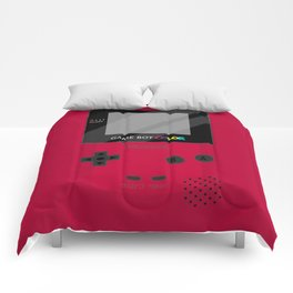 Gameboy Color - Red Comforters