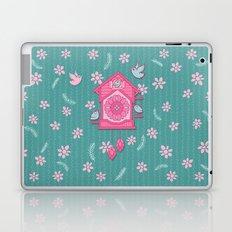 Cuckoo Time pink Laptop & iPad Skin