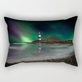 Lighting Up The Dark Rectangular Pillow