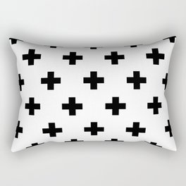 Swiss Cross V2 Rectangular Pillow
