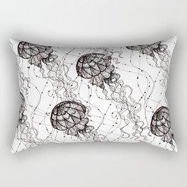 Jellyfish. By Ane Teruel Rectangular Pillow