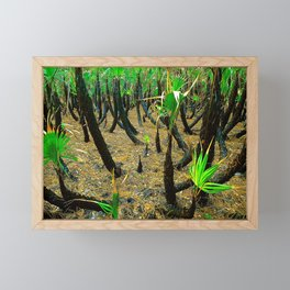 After the fire Framed Mini Art Print
