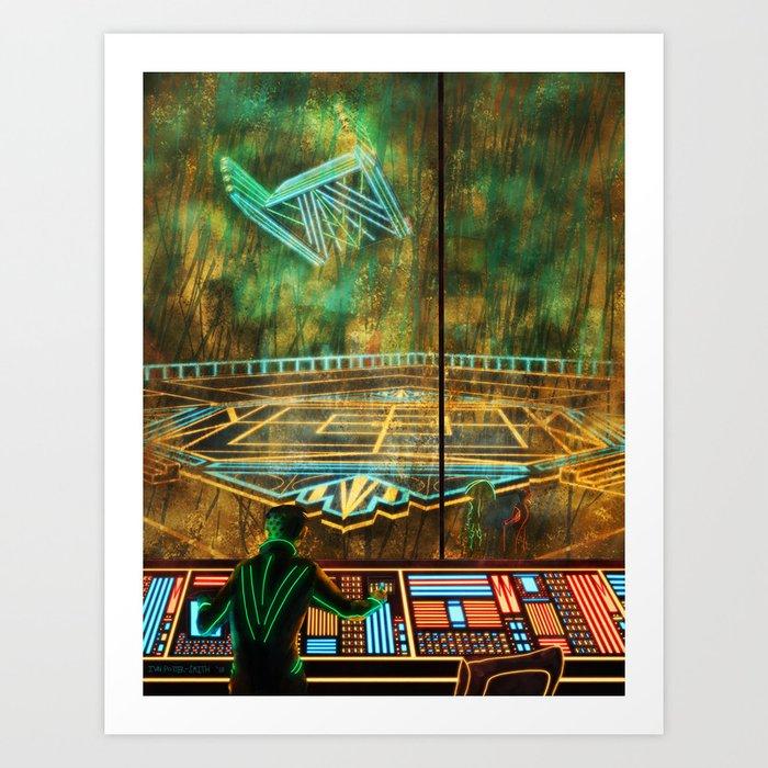 Control Room Art Print