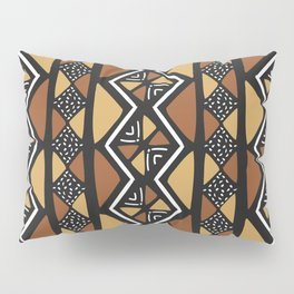 African mud cloth Mali Pillow Sham