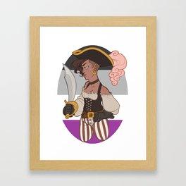 Ace Pirate #2 Framed Art Print