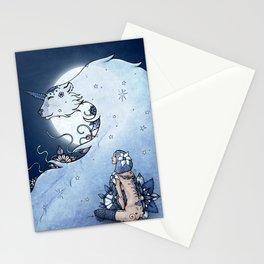 Mia & The Unicorn Bear Stationery Cards