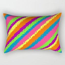 Crazy Colorz Rectangular Pillow