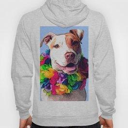 Dog in Flowers Hoody