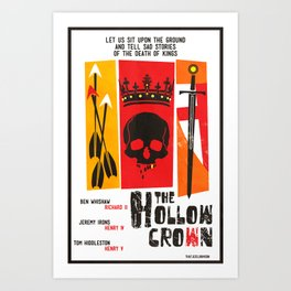 The Hollow Crown (Color Variant 2) Art Print