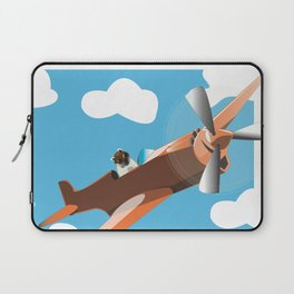 When Pugs Fly Laptop Sleeve