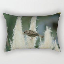 Sparrow Among Oats Rectangular Pillow