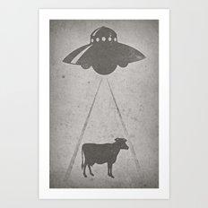 Everybody loves beef Art Print