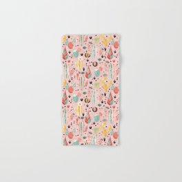 Pink Desert pattern Hand & Bath Towel